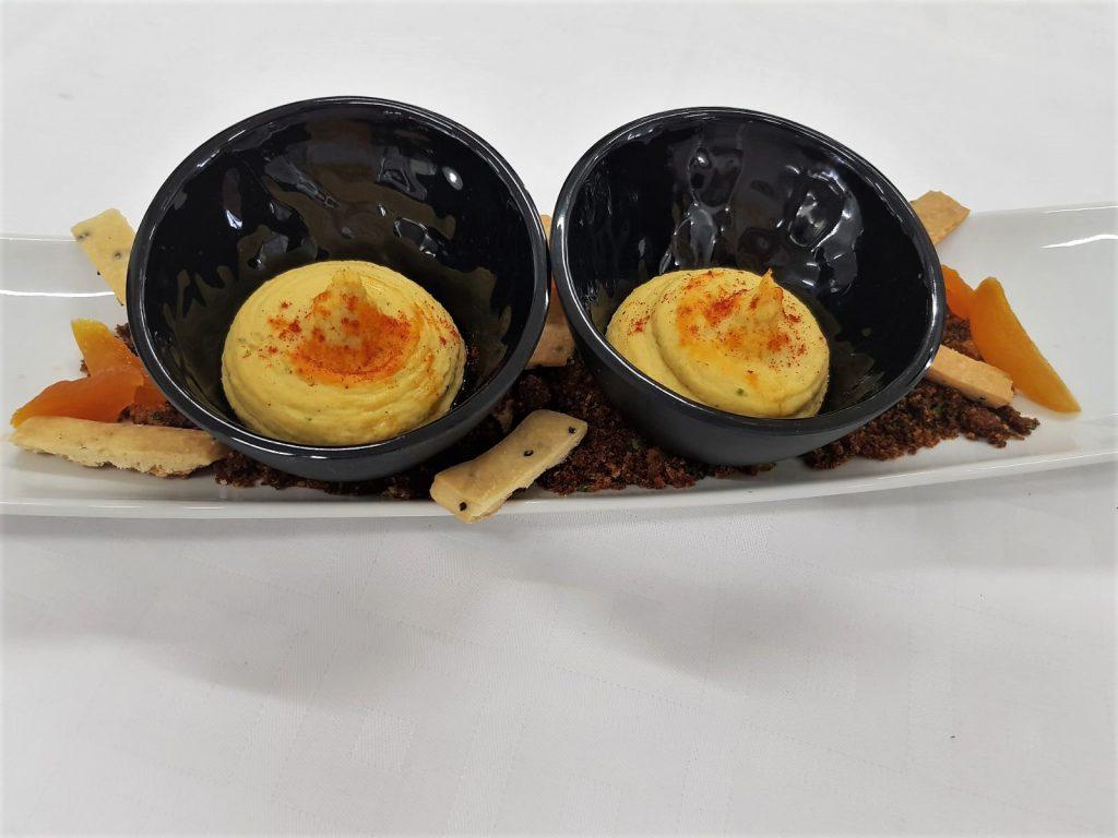 Hummus de garbanzos para dippear