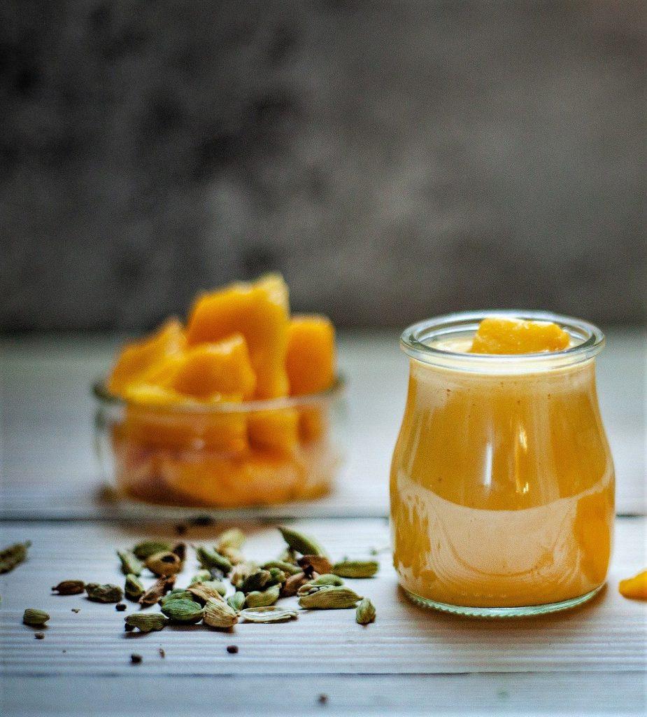 Salsa de mango chutney de mango