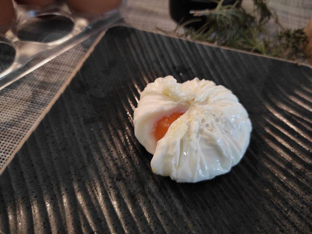 Huevo flor