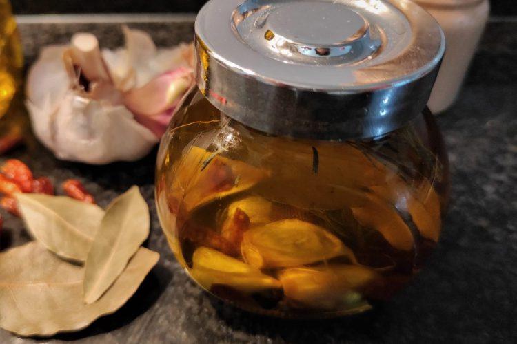 aceites infusionados de oliva