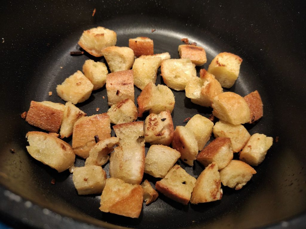 pan frito sopa castellana