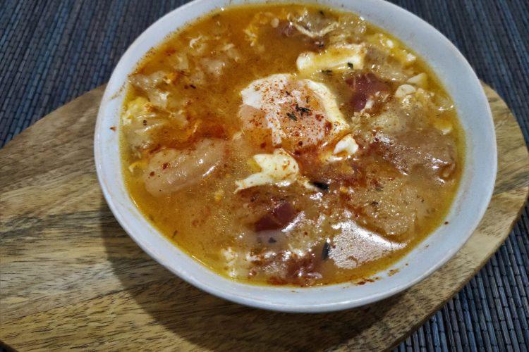 sopa de ajo receta tradicional