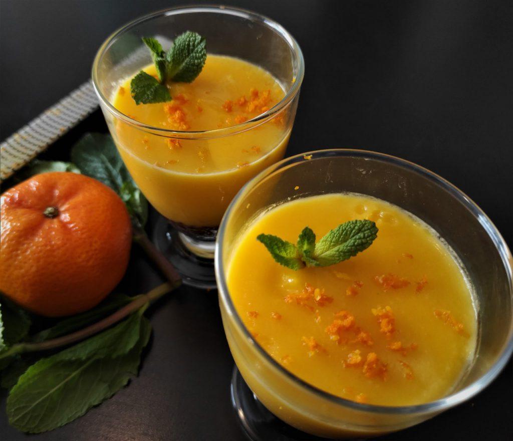 Curd de mandarina tangerine curd