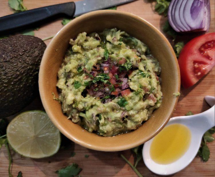 receta guacamole perfecto